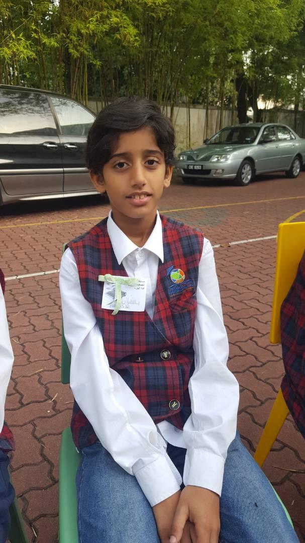 Abdullah Student in Maarifah Interantional School, Kuala Lumpur