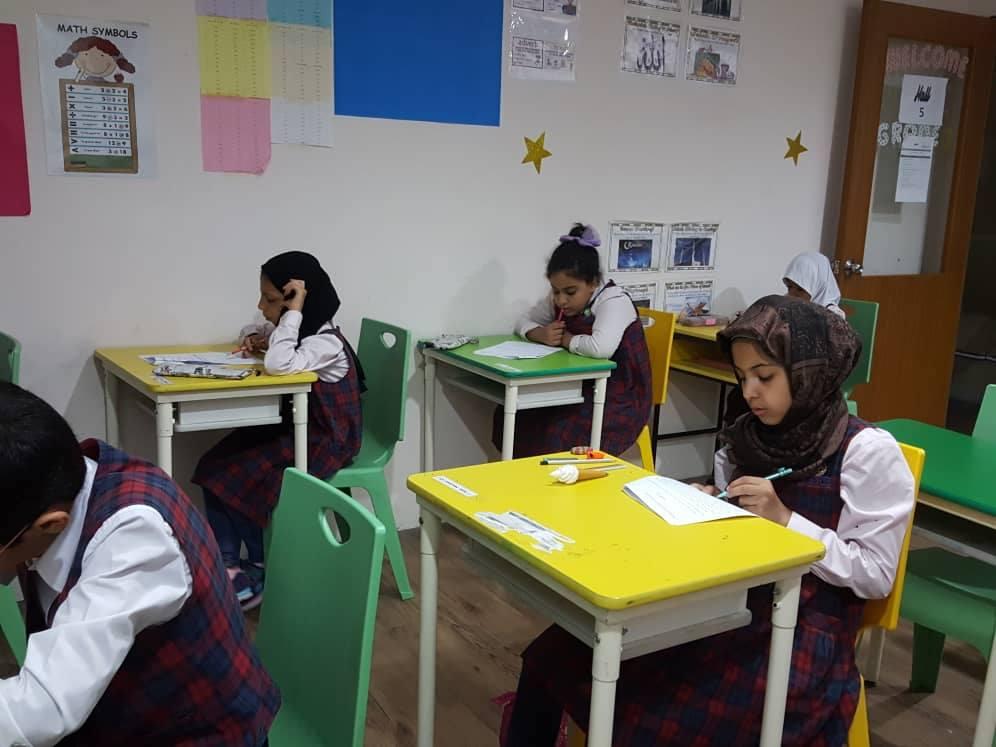 Final Exam of the Year 2017-2018 in Maarifah Academy Kuala Lumpur